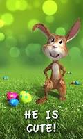 Screenshot of Easter Bunny Live Wallpaper