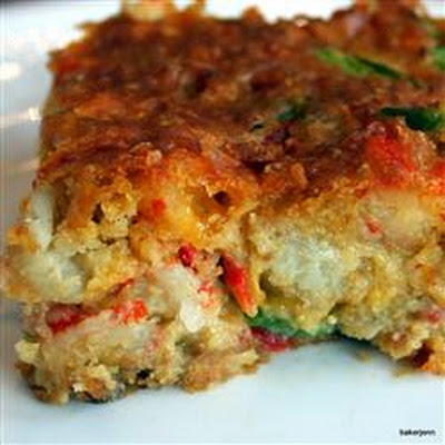 Crawfish Cornbread