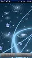 Screenshot of Star Live Wallpaper Pro