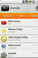 Screenshot of mt:s apcentar
