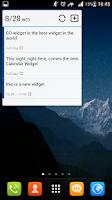 Screenshot of GO Calendar+