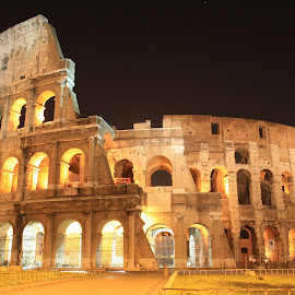 Rome Coliseum by Bruno Perez - Buildings & Architecture Public & Historical ( coliseum, roman architecture, amphiteatre, rome, beautiful, historic building, historical,  )