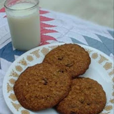 Oatmeal Raisin Cookies (See directions and all recipe info)