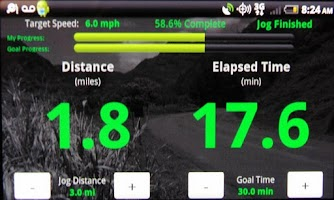 Screenshot of Pace Keeper