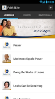 Screenshot of Faith4Life Church