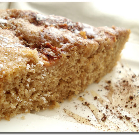 COFFEE APPLE CAKE