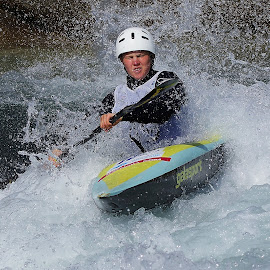 Kayak race by Branko Frelih - Sports & Fitness Watersports