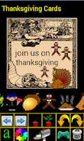 Screenshot of Thanksgiving Cards