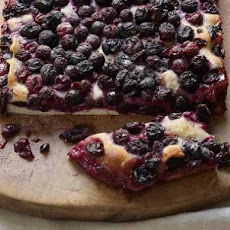 Sweet Rosemary and Grape Focaccia