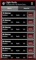 Screenshot of Archery ScorePad