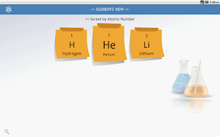 Screenshot of Periodic Table PLM