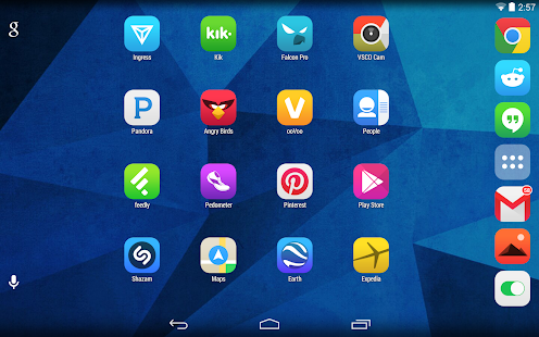 Pop UI (Go Apex Nova theme) - screenshot thumbnail