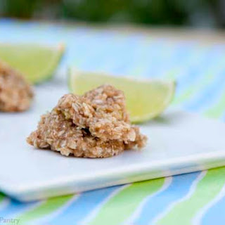 Clean Eating Coconut Lime Freezer Cookies