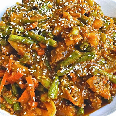 Penang Acar (Penang Spicy Pickled Vegetables)