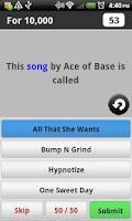 Screenshot of 90's Fun Music Game Lite
