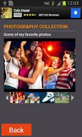 Screenshot of Photo Gallery Slideshow