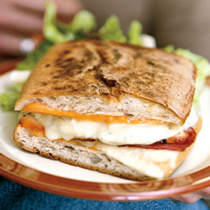 Grilled Turkey Cuban Sandwiches