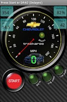 Screenshot of Chevy Speedo Dynomaster Layout