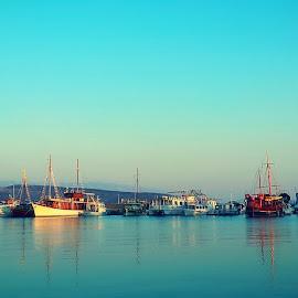 Krk by Žaklina Šupica - Transportation Boats
