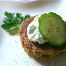 Sean's Falafel and Cucumber Sauce