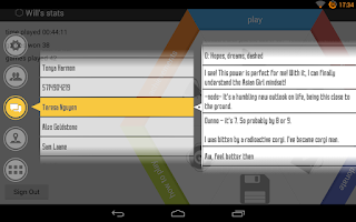 Screenshot of SAO SMS Extension