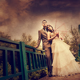 Romantic Memories by Andri Jangkoeng - Wedding Bride & Groom