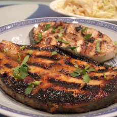 BBQ Grilled Fish in Teriyaki Marinade