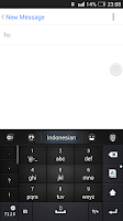 Screenshot of Indonesian for GO Keyboard