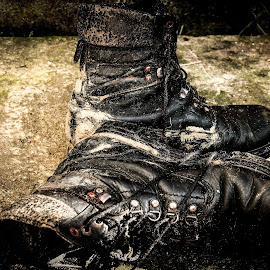 old boots by Dan Hîncea - Artistic Objects Clothing & Accessories