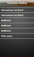Screenshot of Chechen Radio Chechen Radios