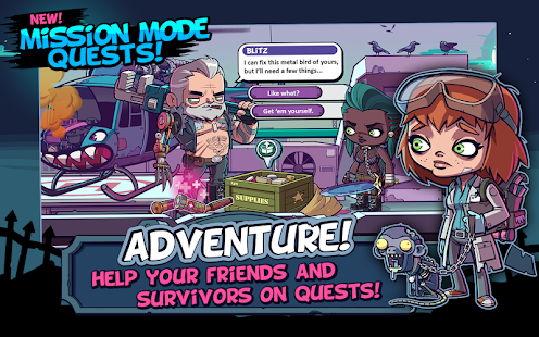 Game ZOMBIES ATE MY FRIENDS APK for Kindle