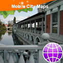 Ljubljana Street Map icon