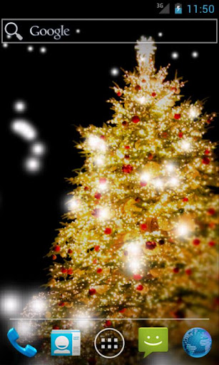 SNOW CHRISTMAS LiveWallpaper