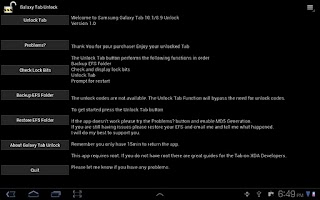 Screenshot of Tab 10.1 Unlock[Root Required]