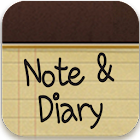 Note&Diary Go launcher theme icon