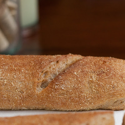 Quick Wheat Baguettes