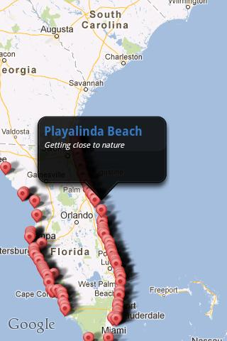 【免費旅遊App】Florida's Best Beaches-APP點子
