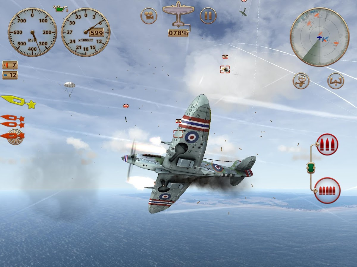Sky Gamblers: Storm Raiders Screenshot 19