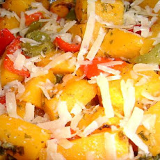 Autumn Squash & Pepper Casserole