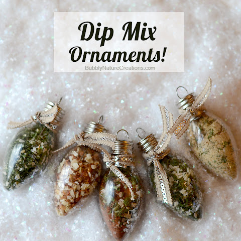 Dip Mix Ornaments!