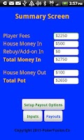 Screenshot of Poker Payout Trial Version