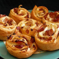 Onion-Bacon Crescent Bites