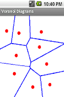Screenshot of Voronoi Diagram