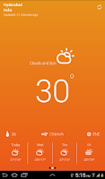 Screenshot of Weather Neue