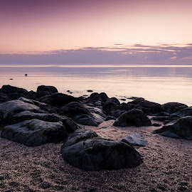 Hearsons Cove, Australia by Michael Wiejowski - Landscapes Beaches ( karratha, australia, seascape, travel, sunrise, beach, landscape )