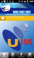 Screenshot of U105