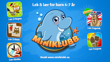Screenshot of Miniklubb