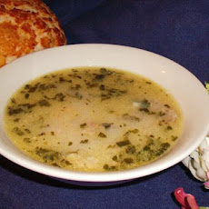 Shorba Baidha - Algerian Chicken Soup.