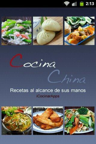 iCocinar Cocina China