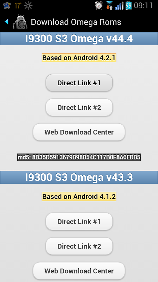 Omega Files Pro Screenshot 2